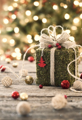 stock-photo-74732261-environmentally-friendly-christmas-gift-wrapped-in-moss